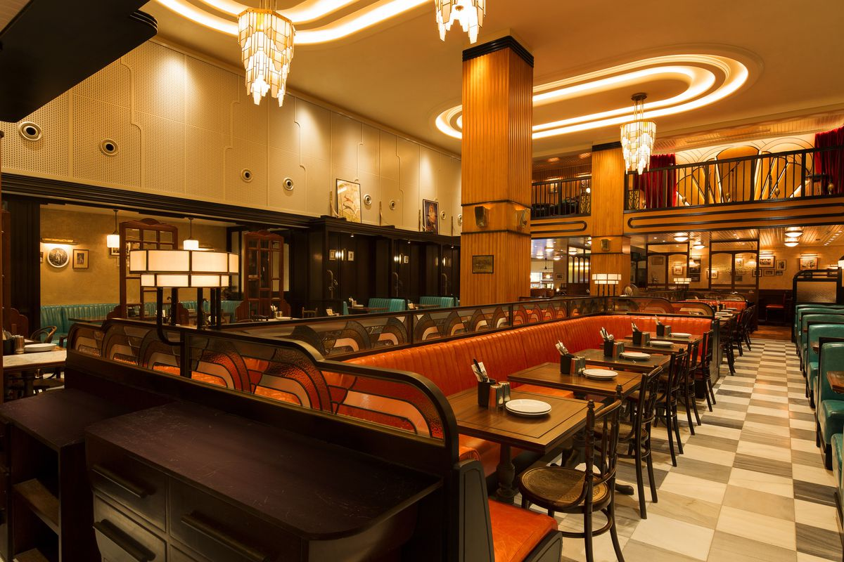 Inside Dishoom\'s New Art Deco and Jazz-Inspired Kensington ...