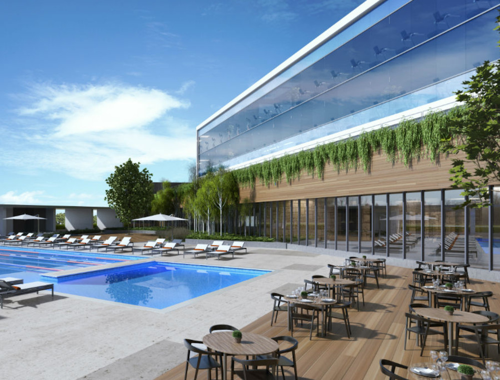 Chicago s new midtown athletic club hotel prepares for for Hotel club decor