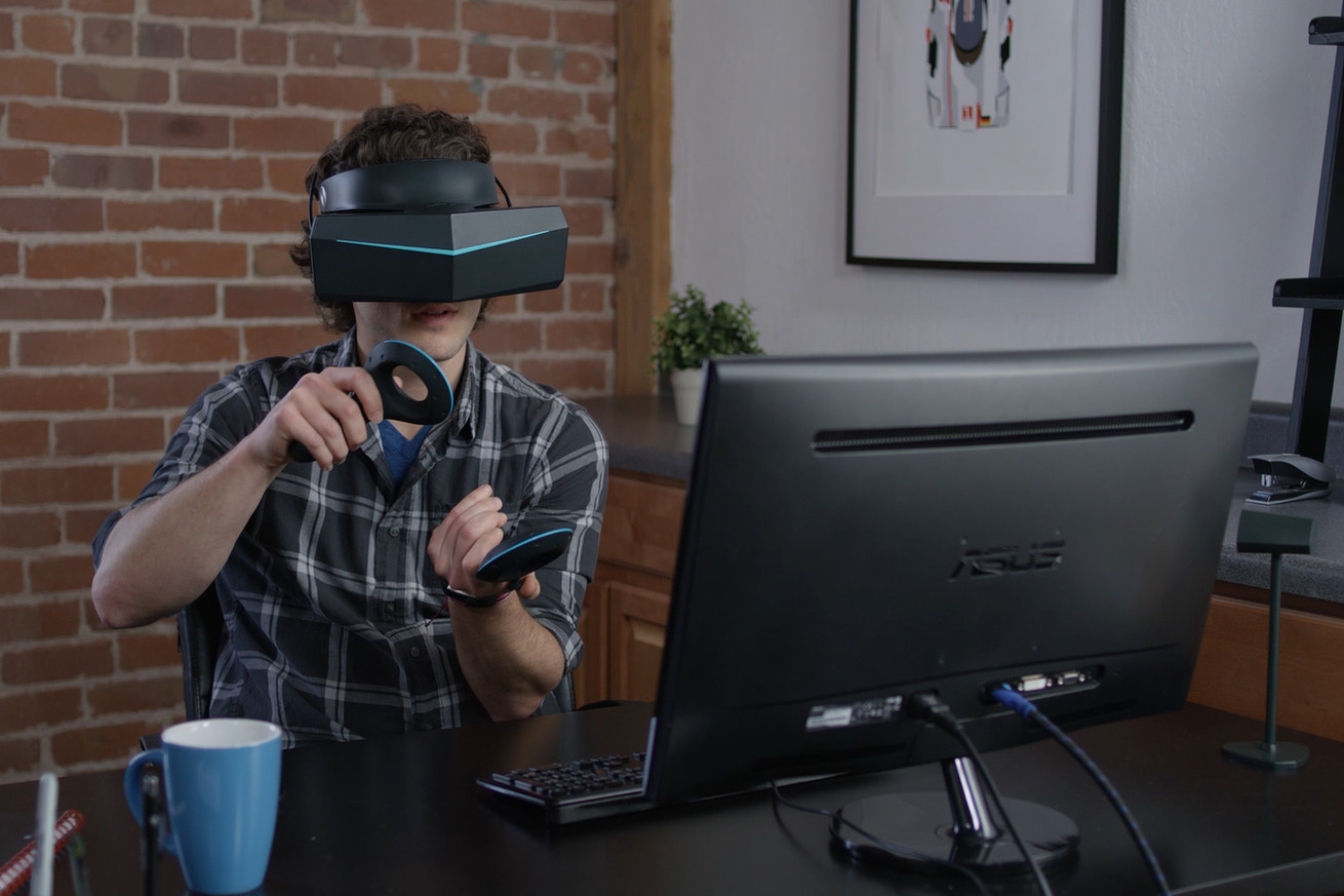pimax s massive 8k vr headset shows why comfort takes precedent over pixel count