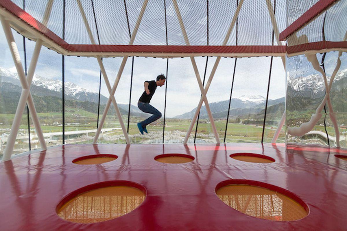 """All photos by Patrick Lüth via <a href=""""http://www.designboom.com/architecture/swarovski-kristallwelten-snohetta-expansion-austria-04-28-2015/"""">Designboom</a>"""