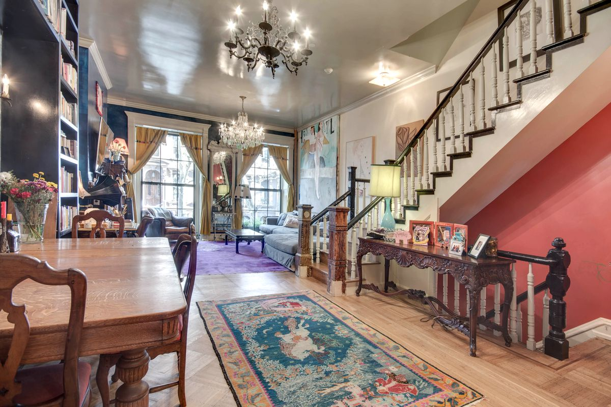 New York Mansions For Sale >> 'Girls' star Jemima Kirke lists cozy Carroll Gardens townhouse for $4.5M - Curbed NY