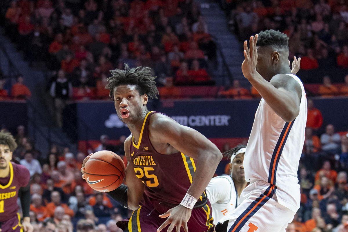 NCAA Basketball: Minnesota at Illinois
