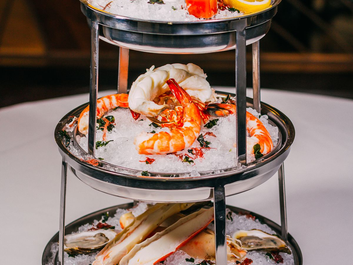 The Oakville Steakhouse seafood tower