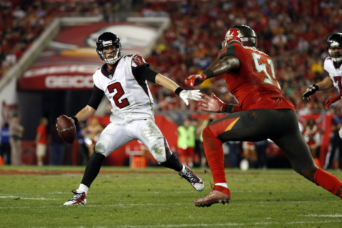 Falcons vs  Buccaneers: Channel, announcers, kickoff time