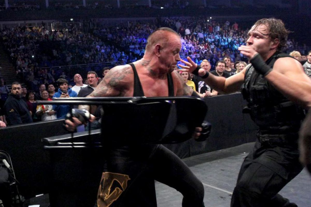 Rumor Roundup Undertaker Ambrose Money In The Bank More Cageside Seats