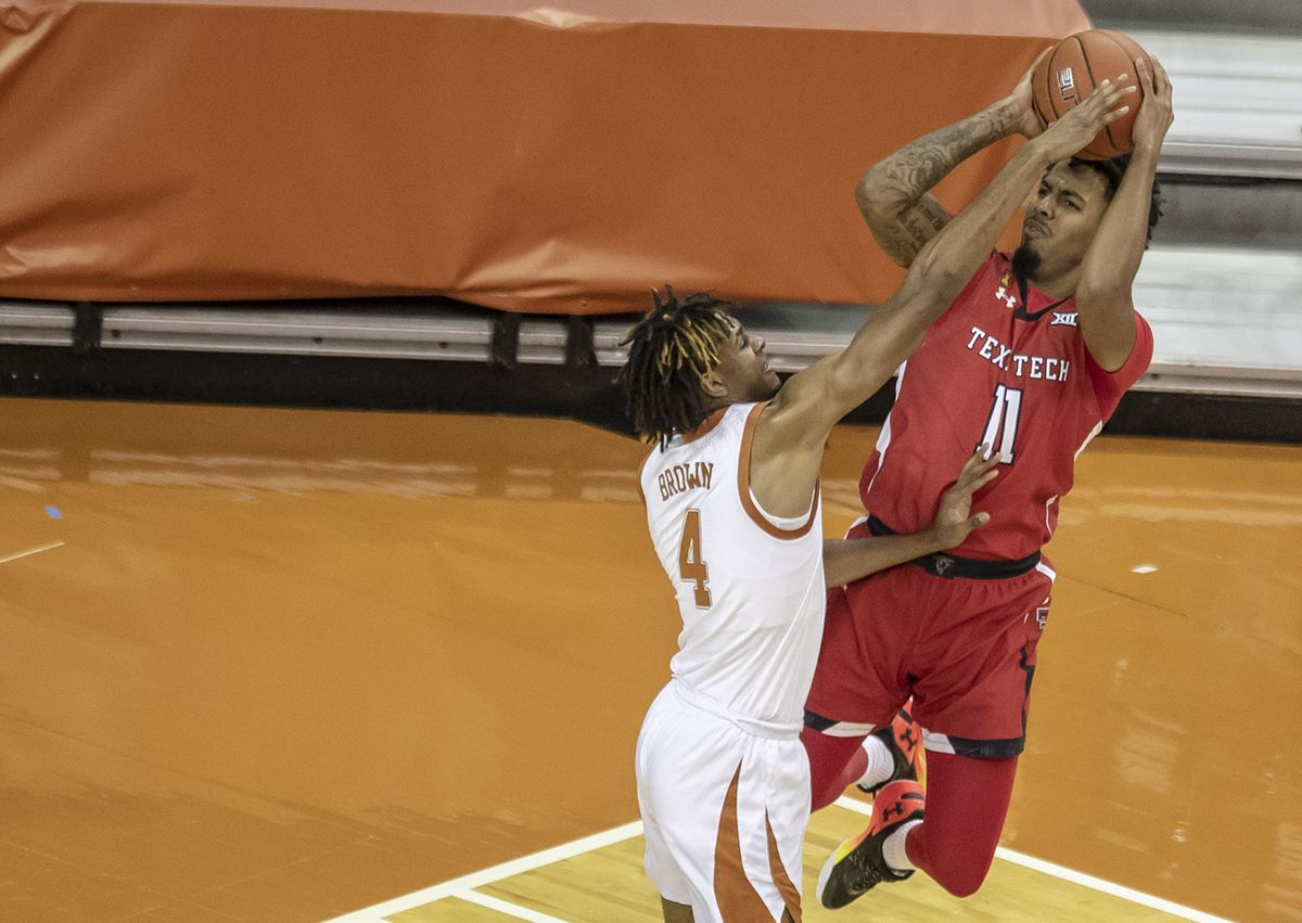 Bola Basket NCAA: Texas Tech di Texas