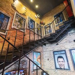 The lobby of The Second City in Old Town | Tyler LaRiviere/Sun-Times