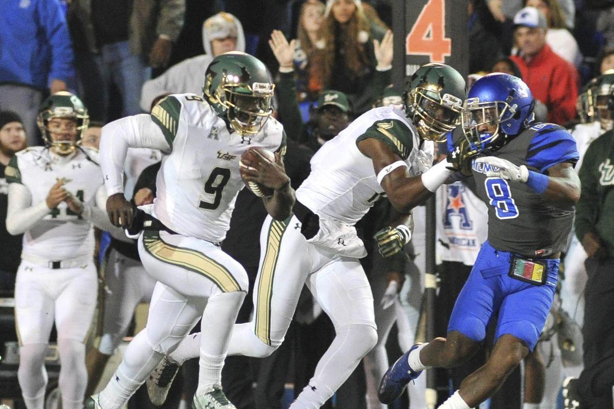 NCAA Football: South Florida at Memphis