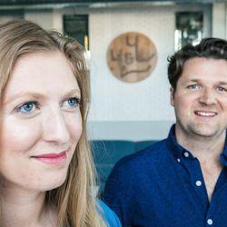 L: Laura Johnson; R: Luke Mahoney