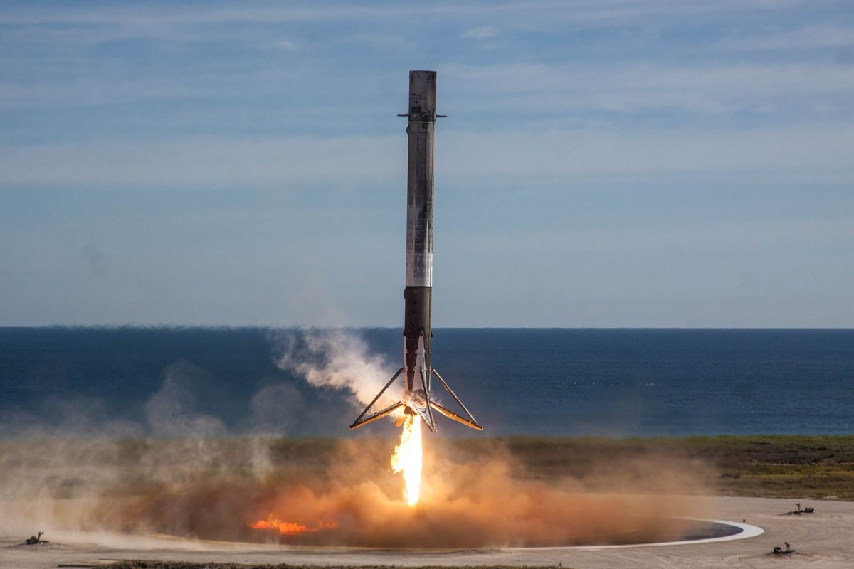 For The First Time Ever  A Spacex Falcon 9 Rocket Fails To