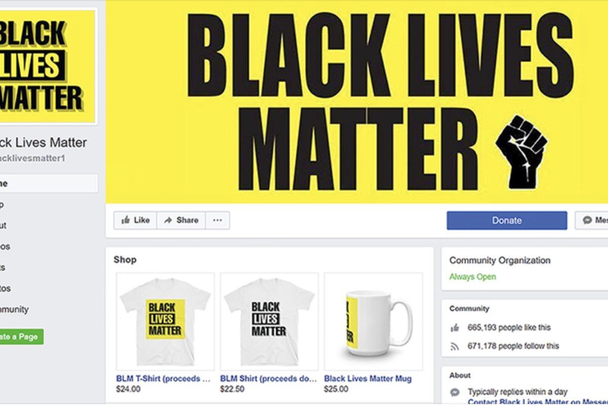 The Largest Black Lives Matter Page On Facebook Was A Scam Vox