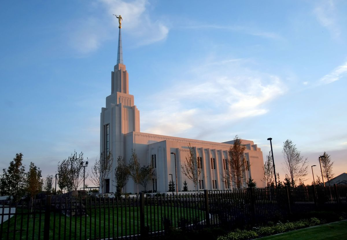 The Twin Falls Idaho Temple in 2008. Before plans for a new temple in Burley, Idaho, were announced on April 4, 2021, Latter-day Saints in communities across southern Idaho, including Twin Falls, Jerome, Burley, Rupert, Ketchum and Hailey all attended the Twin Falls temple.