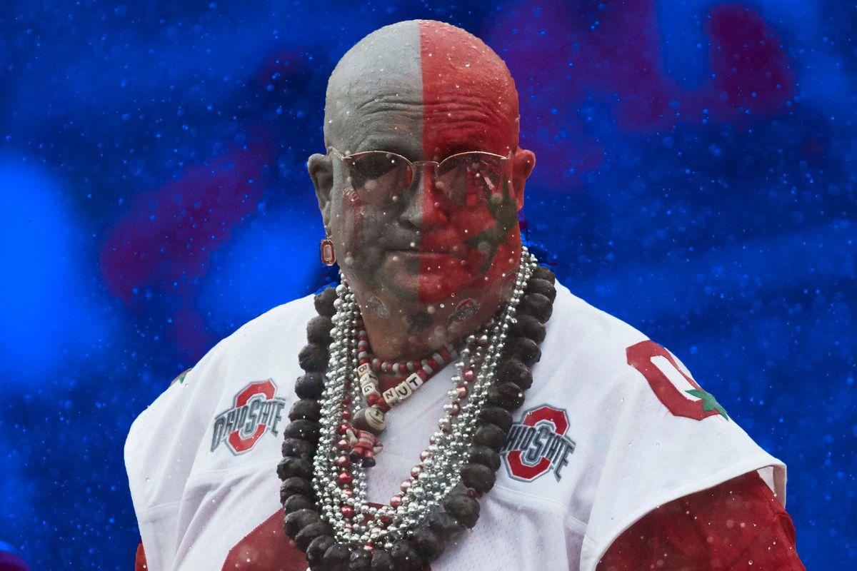 An Ohio State fan