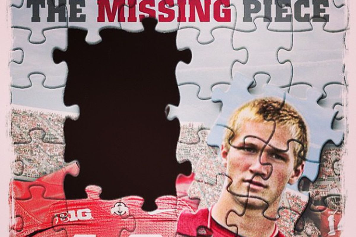 A mailing NJ TE Mike Gesicki got earlier this year from Ohio State.