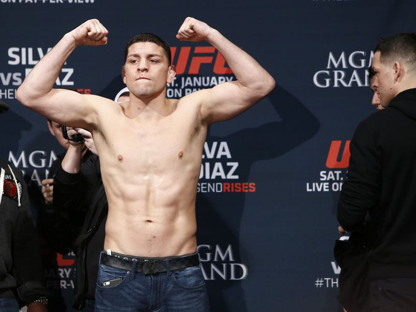 Dana White confirms Jorge Masvidal vs  Nick Diaz is no