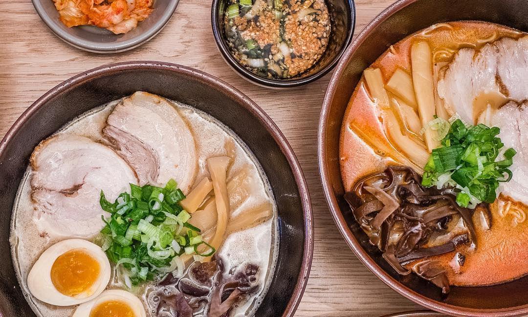 Ramen at Yamagoya, a ramen restaurant in Southwark, London
