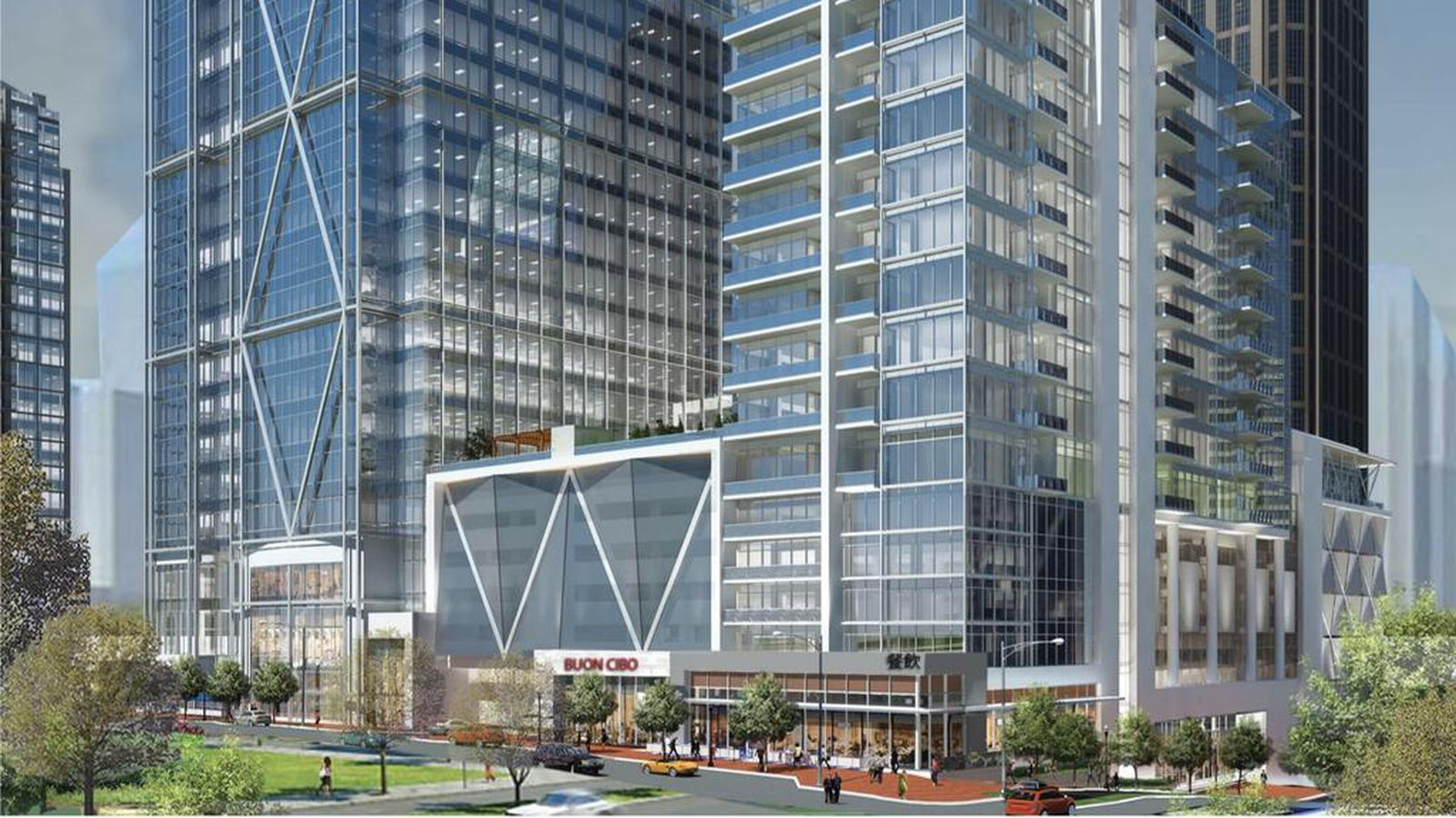 Midtown Block Could Be Swallowed By Mixed Use Towers