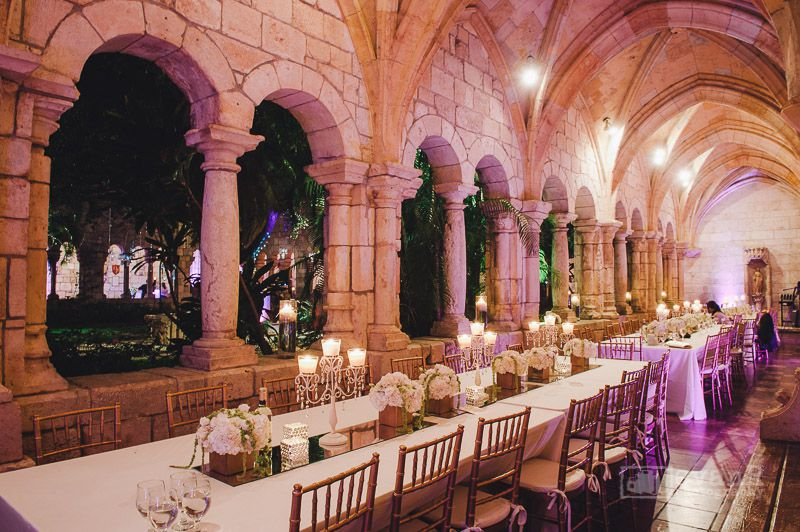 The William Randolph Hearst Ancient Spanish Monastery Is One Of Miami S Most Iconic Well Known Wedding Venues And Surprisingly