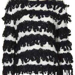 """Topshop handknit loopy jumper, <a href=""""http://us.topshop.com/en/tsus/product/clothing-70483/knitwear-70499/handknit-loopy-jumper-3378080?bi=1&ps=200"""">$150</a>"""