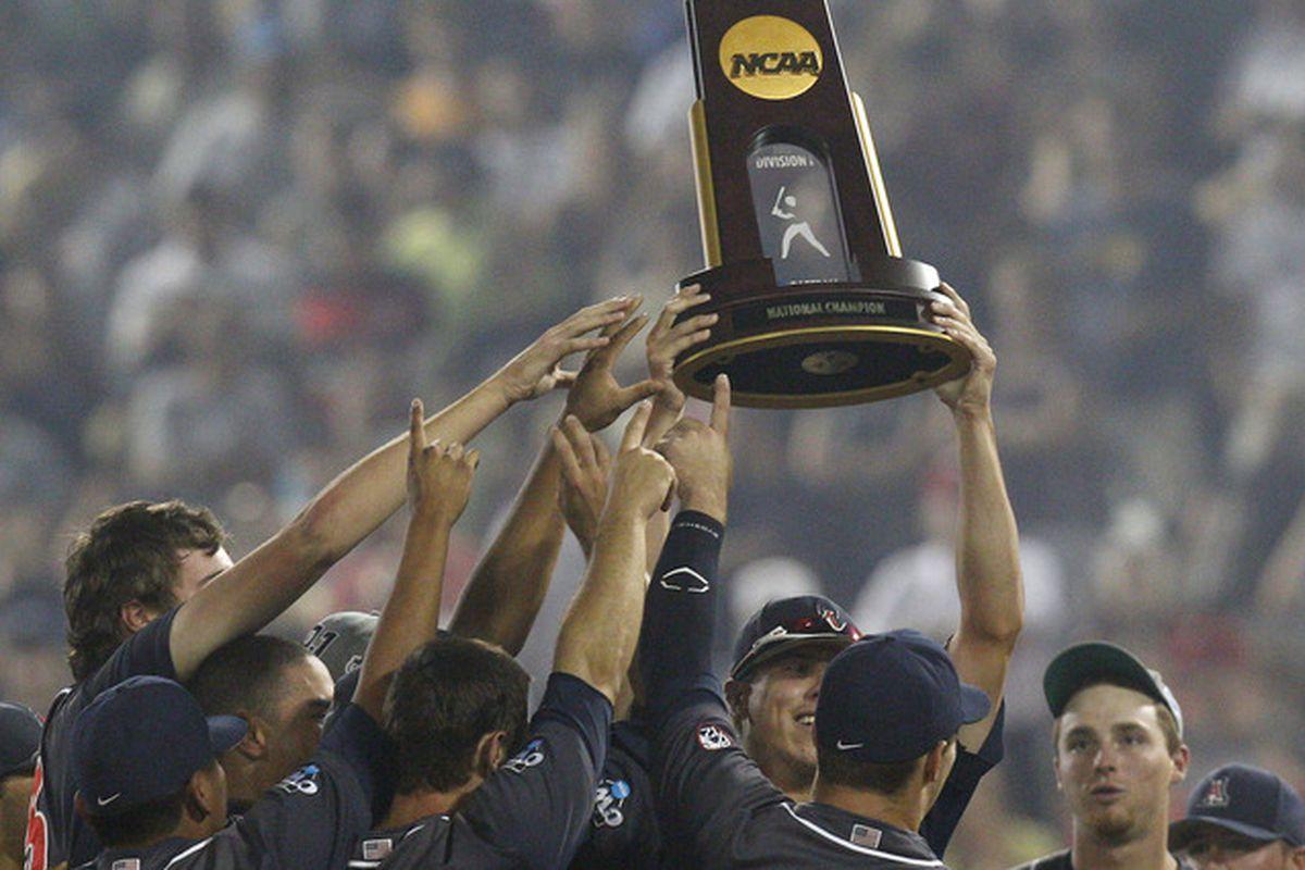 2012 NCAA Baseball National Champion Arizona Wildcats