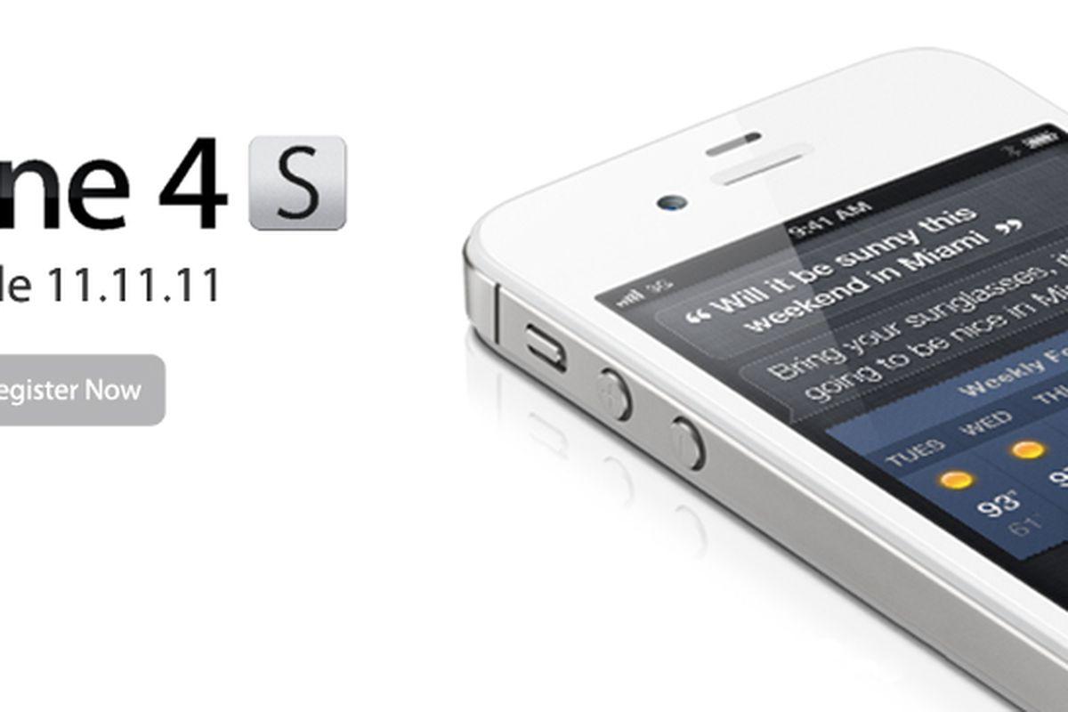 iPhone 4S teaser (C Spire)