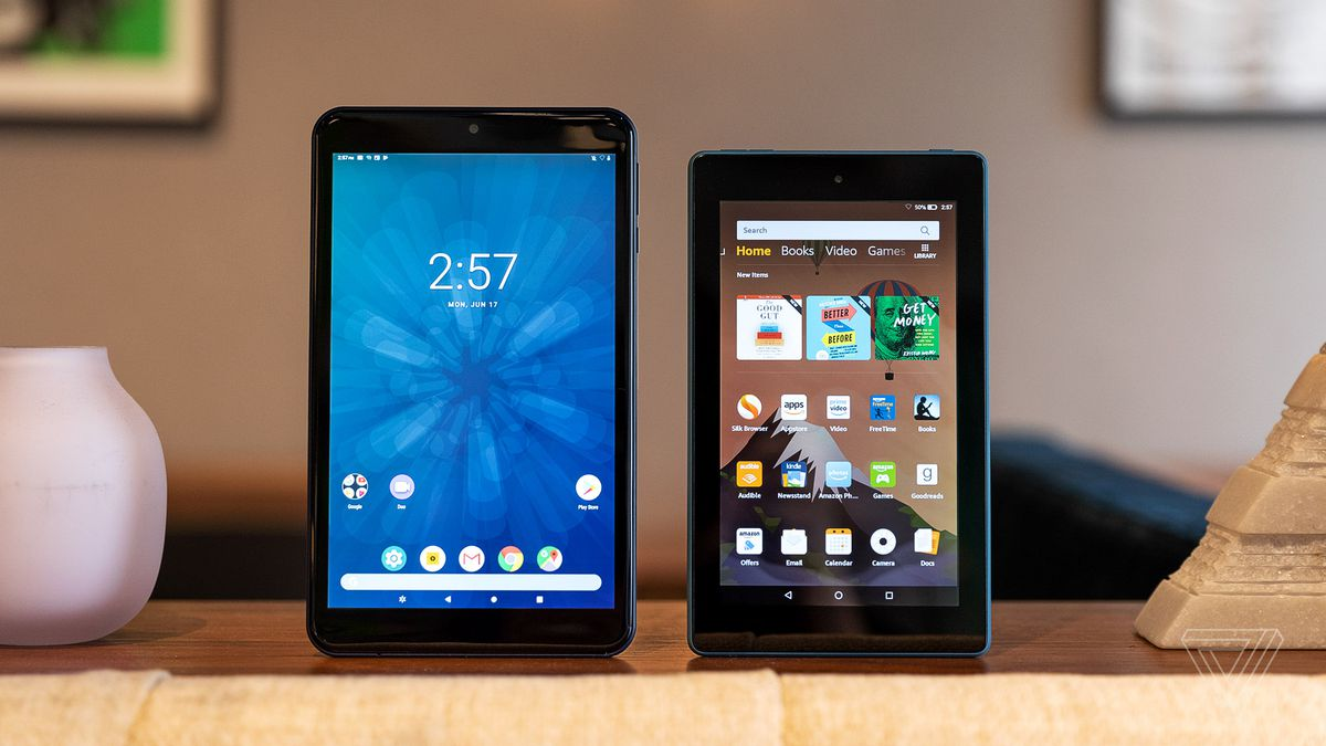 3ca99c7086f0be Budget tablet review: Amazon Fire 7 (2019) vs. Walmart's Onn tablet ...