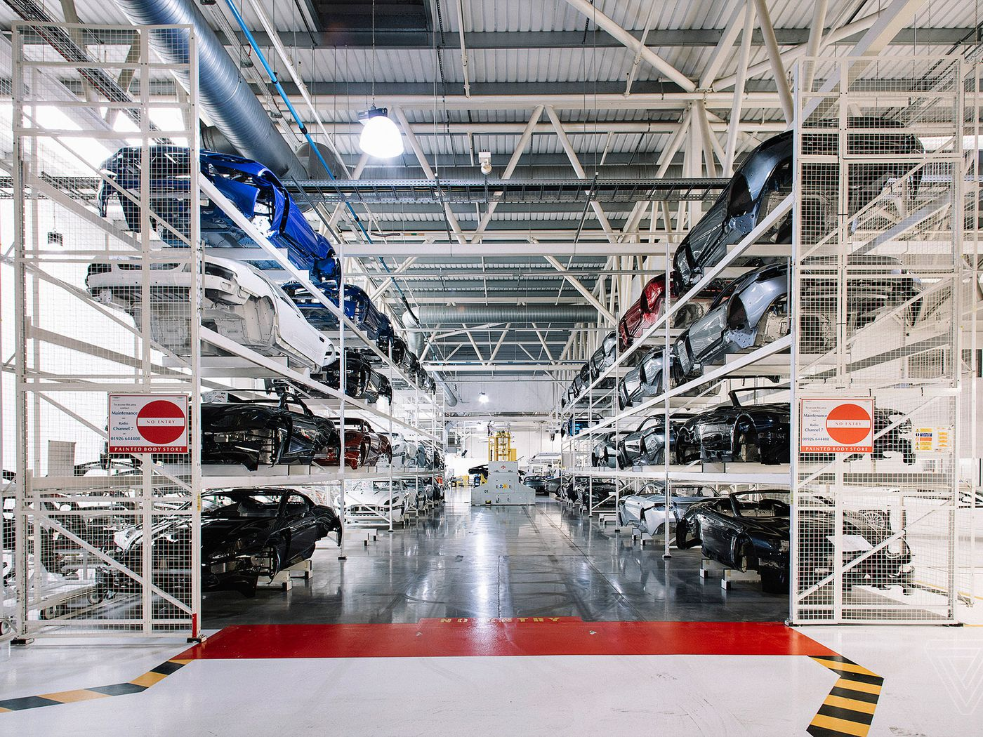 Inside The Aston Martin Factory The Verge