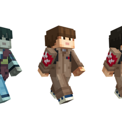 Stranger Things Skin Pack For Minecraft Is The Only Way To Bring - Skins para minecraft pocket edition gratis