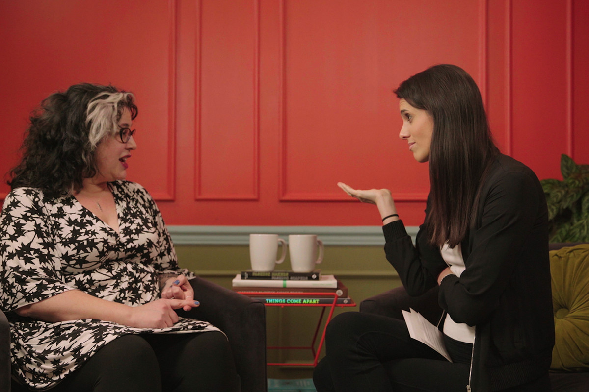 Liz intervews Marjorie Ingall