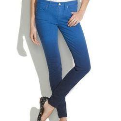 "<b>Madewell</b> Skinny Colorfade Jeans, <a href=""http://www.madewell.com/madewell_category/DENIM/skinnyskinny/PRDOVR~21960/21960.jsp"">$135</a>"