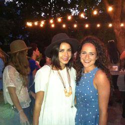 LA designer Cole Morrall with site co-founder Claire Mazur
