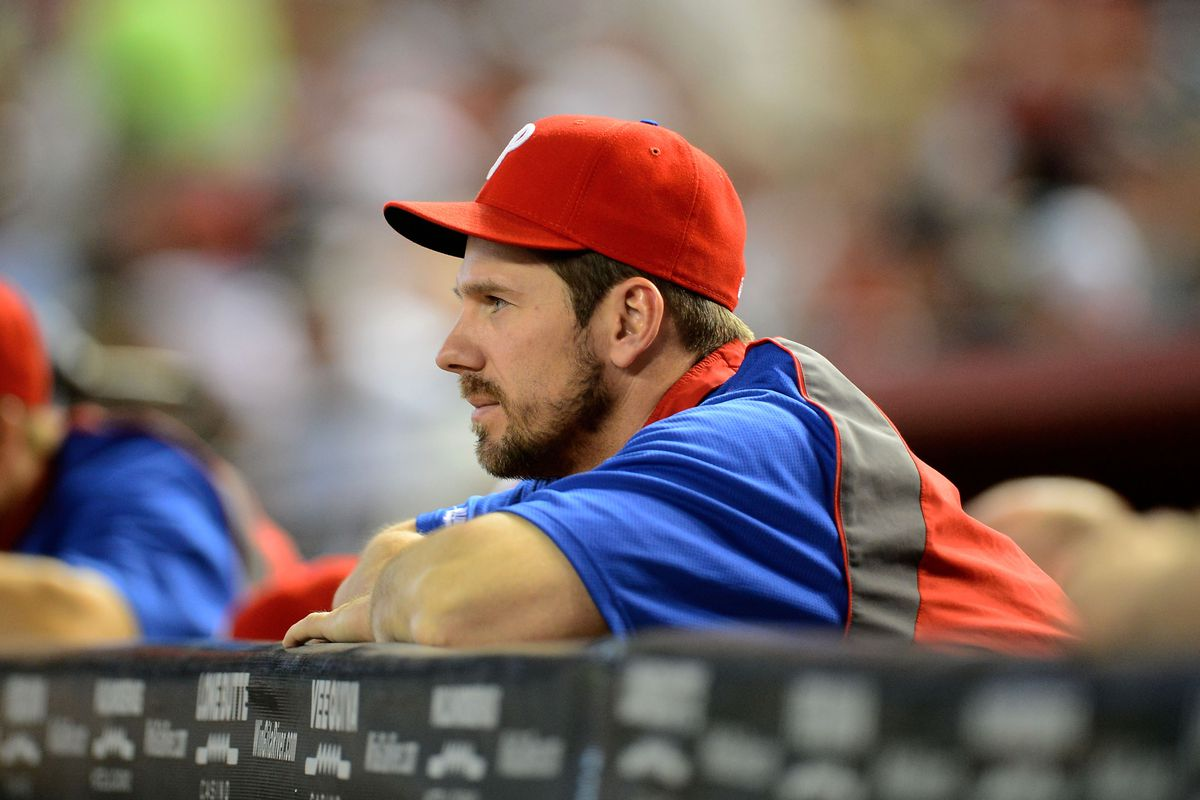 """""""In his dugout in Clearwater, stern Lee lies waiting (for winzzzz)."""""""