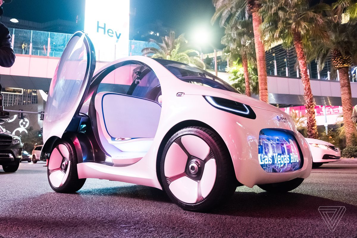 I Rode In The Mercedes Concept Car That Shut Down The Las Vegas