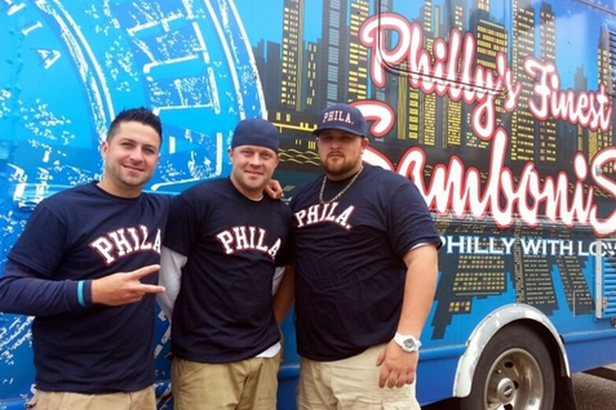 The Samboni's are repping Philly in Great Food Truck Race