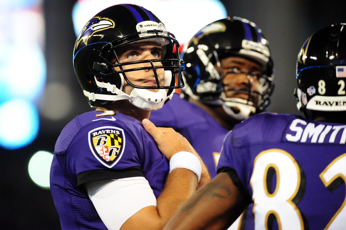 It was a tough night for Baltimore's starters, even though the Ravens came away with a 27-23 win over Atlanta.