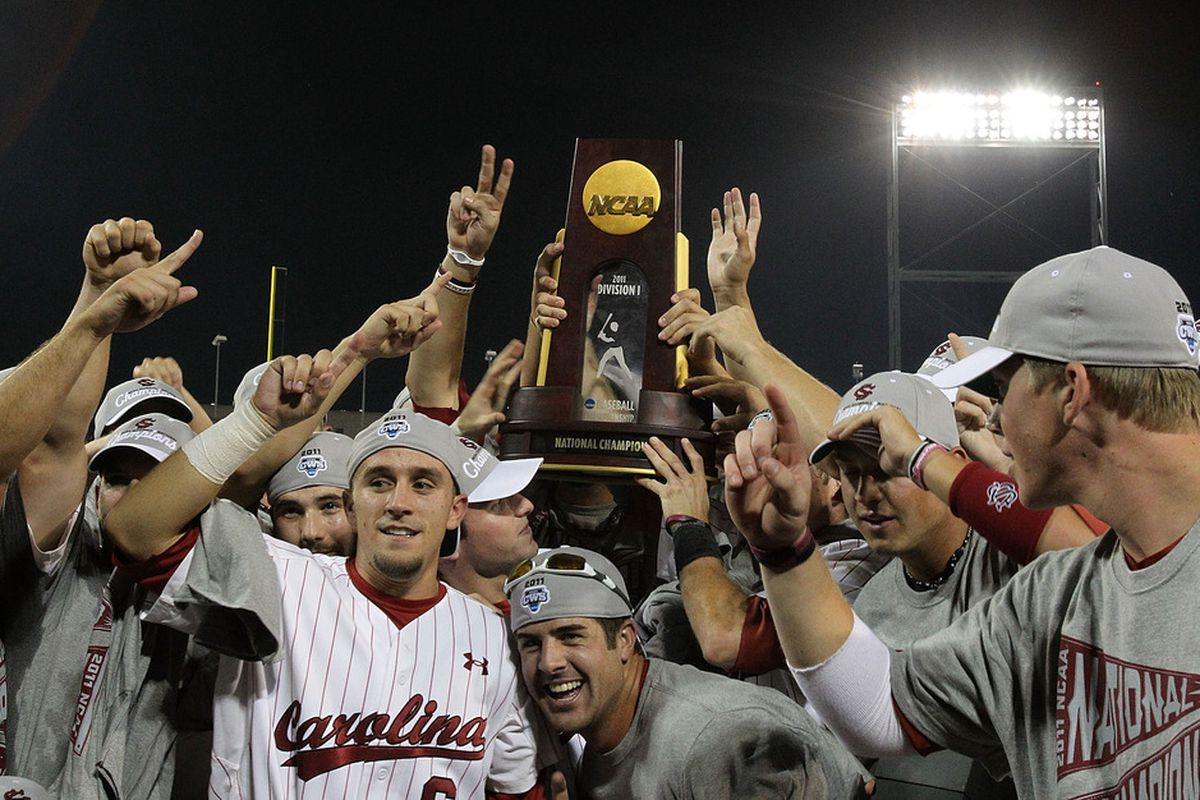 Welcome to SEC baseball, Missouri and A&M. We're also used to winning trophies in that sport.