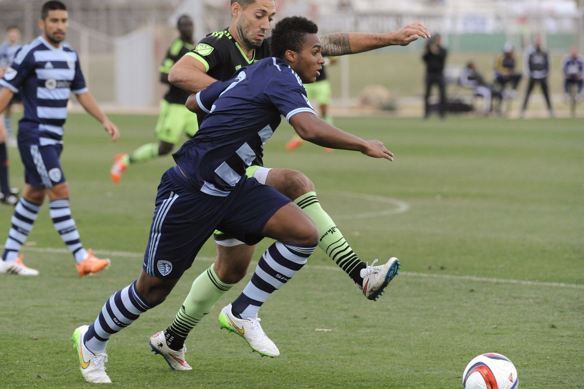 SKC's Erik Palmer-Brown has gained some valuable experience inn MLS
