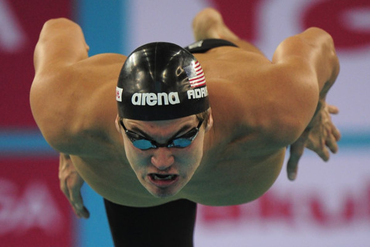 Nathan Adrian will look to defend his title as the fastest man in 100 Free today