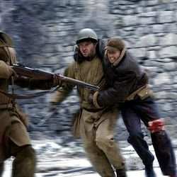"""A scene from """"Saints and Soldiers,"""" which was screened at the LDS Film Festival in 2004."""