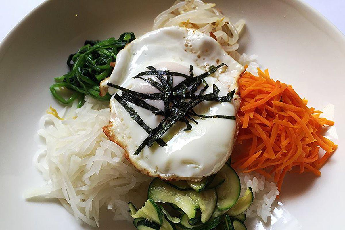 Food at Kimchi Kitchen