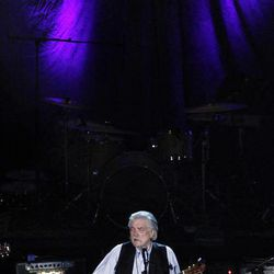 Guy Clark performs at the 11th annual Americana Honors & Awards, Wednesday Sept. 12, 2012, in Nashville, Tenn.