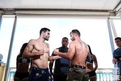 PFL 1 weigh in results, staredowns for Fitch vs. Foster