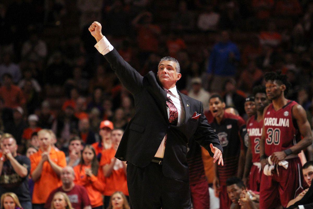 NCAA Basketball: South Carolina at Clemson