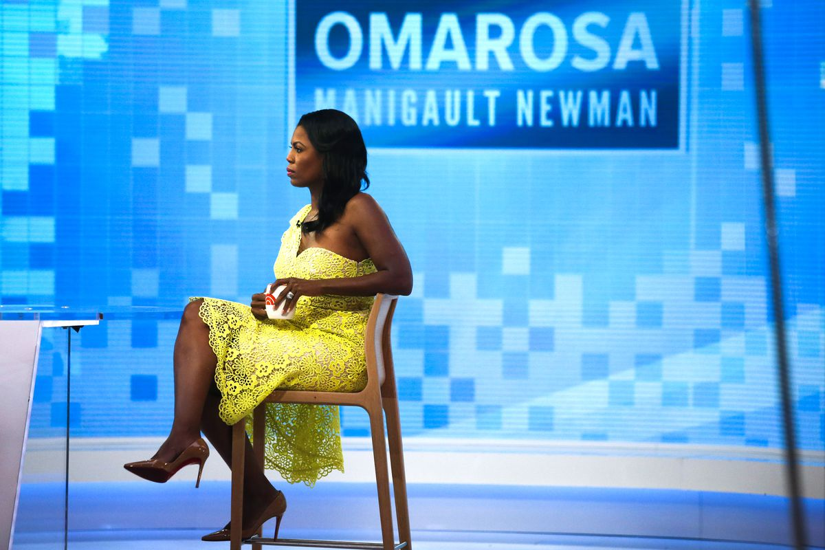Omarosa Manigault-Newman ahead of an appearance on Today on August 13, 2018 in New York City.