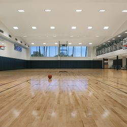 """The ridic basketball court, home of the celebrity society league known as the """"E League."""""""