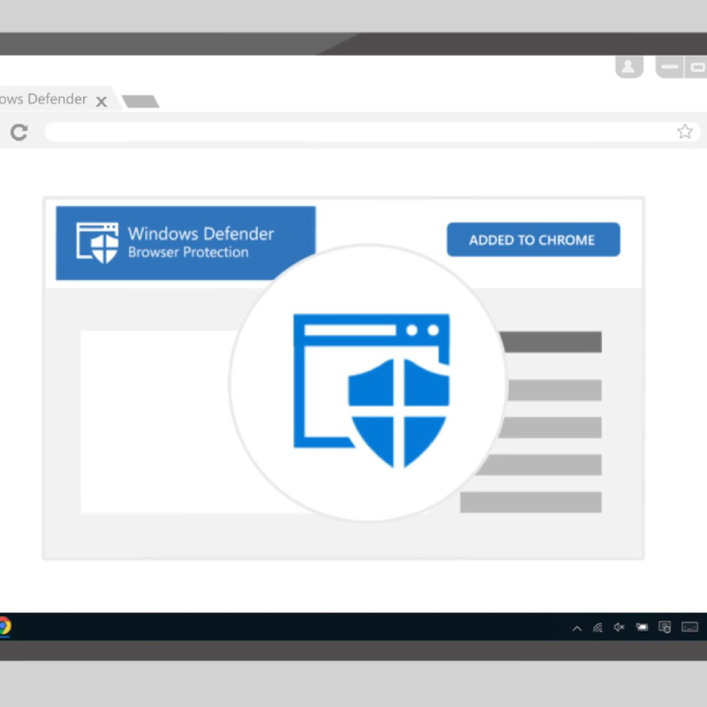 Microsoft brings its antivirus protection to Google's Chrome browser