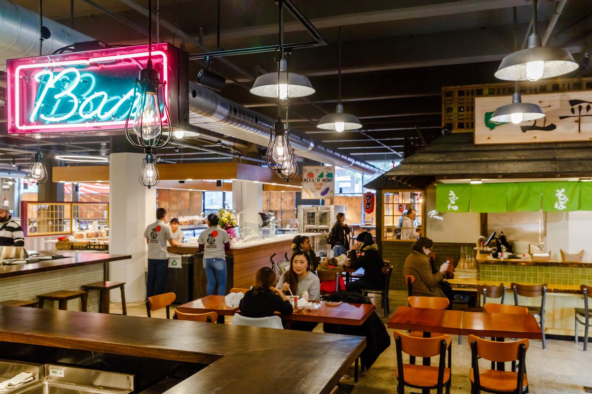 Inside Japan Village The Food Hall And Grocery Now Open In Industry