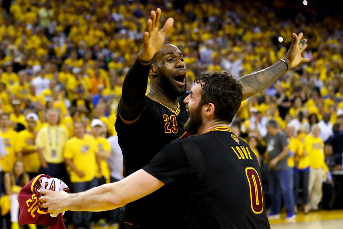 LeBron was not the only one about to cry.