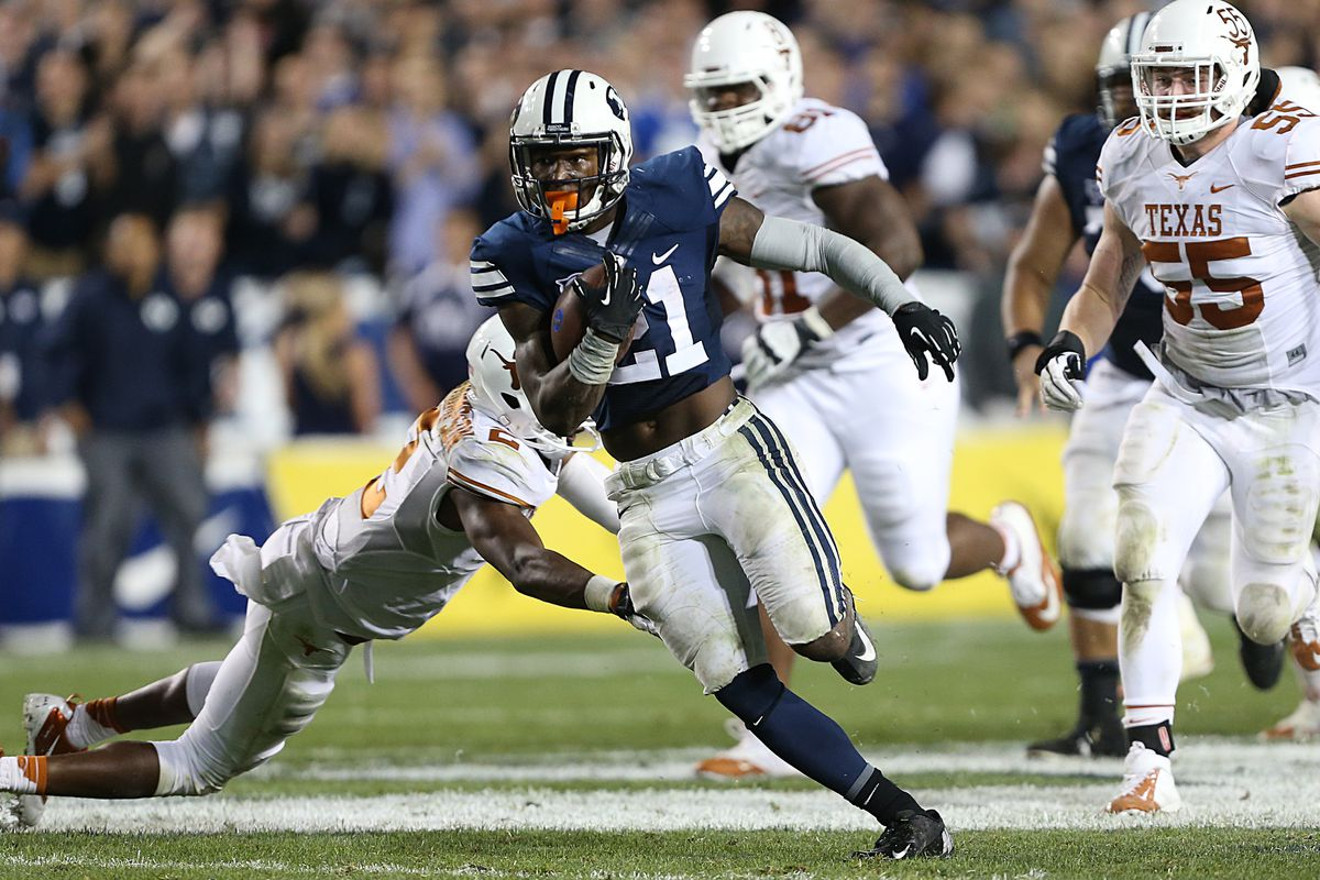 Jamaal Williams ran for a career-high 182 yards against Texas, and was not nearly BYU's leading rusher.