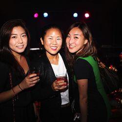 "Andrea M., Hsini Chou of the blog <a href=""http://www.nykeiko.com/"">New York à la Keiko</a> and Racked contributor, and Gina Chou"